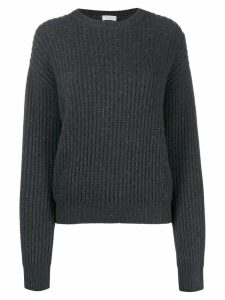Brunello Cucinelli classic long-sleeve sweater - Grey