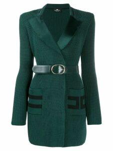 Elisabetta Franchi blazer-style dress - Green