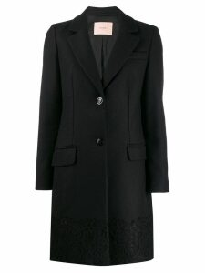 Twin-Set tailored coat - Black