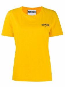 Moschino logo print T-shirt - Yellow