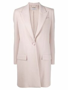 Givenchy single-breasted tailored coat - Pink
