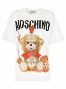 Moschino Centurion Teddy oversized T-shirt - White