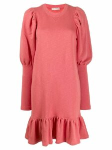 Ulla Johnson ruffled shift dress - Pink