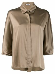 Styland fluid shirt - Brown