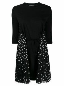 Stella McCartney polka dot mini dress - Black
