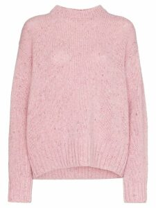 Joseph tweed knit jumper - Pink