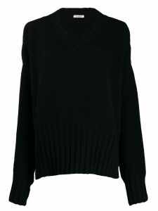 P.A.R.O.S.H. oversized knitted sweater - Black