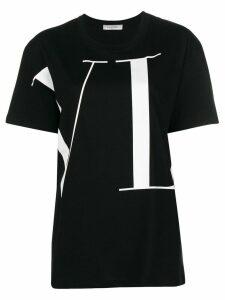Valentino VLTN longline T-shirt - Black