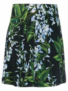 Blumarine floral print skirt - Blue
