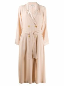 Forte Forte double breasted coat - Neutrals