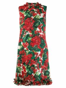 Dolce & Gabbana floral print shift dress - Red