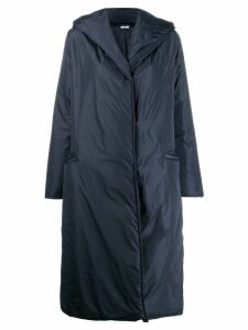 P.A.R.O.S.H. long hooded jacket - Blue
