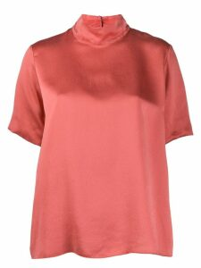 Forte Forte stand up collar T-shirt - Pink