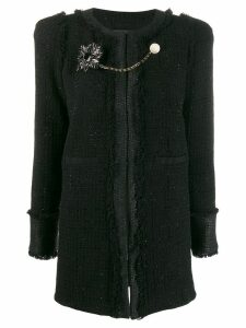 Pinko Marginare coat - Black