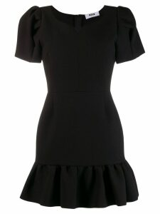 MSGM Sweetheart mini dress - Black