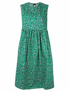 Marni sleeveless floral print dress - Green