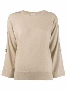 Brunello Cucinelli classic slim-fit sweater - Neutrals