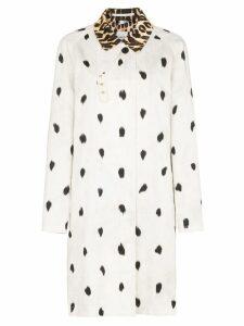 Burberry Carrington dual-print coat - White