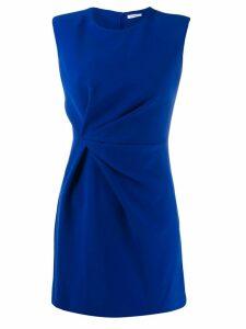 P.A.R.O.S.H. drape detail dress - Blue