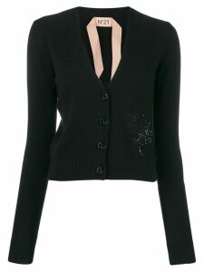Nº21 knitted black jumper