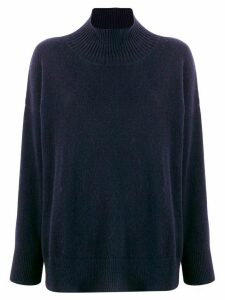 Roberto Collina loose fit jumper - Blue