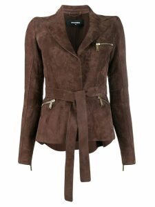 Dsquared2 belted blazer - Brown