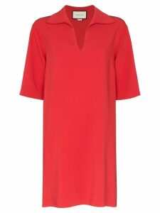 Gucci Web trim tunic - Red