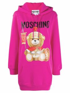 Moschino Teddy Gladiator hoodie - Pink