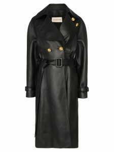 Alexandre Vauthier double-breasted trench coat - Black