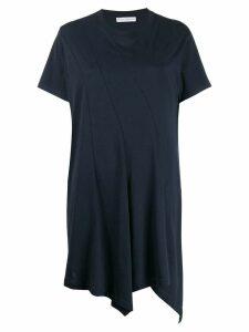 JW Anderson panelled handkerchief T-shirt - Blue