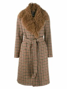 Simonetta Ravizza Papavero coat - Brown