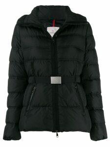 Moncler funnel neck padded jacket - Black
