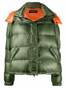 Simonetta Ravizza hooded puffer jacket - Green