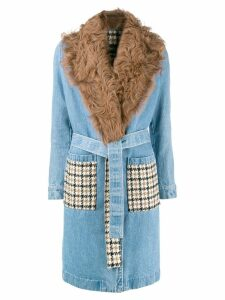 Simonetta Ravizza Iaia coat - Blue