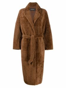 Simonetta Ravizza Arizona coat - Brown