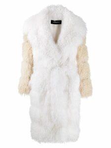 Simonetta Ravizza Ginny coat - White