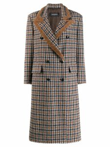 Simonetta Ravizza Paula double-breasted coat - Brown