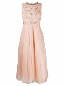Red Valentino organza dress - Neutrals