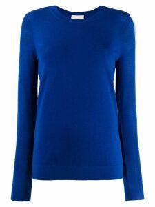Michael Michael Kors fitted knit jumper - Blue
