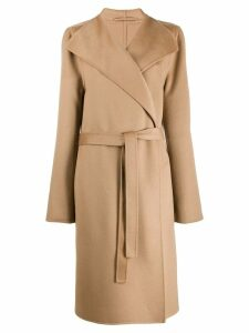 Joseph cashmere belted coat - Brown