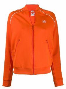 Adidas contrast logo jacket - Orange