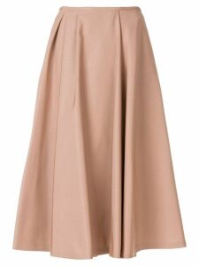 Rochas midi circle skirt - Pink