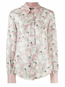 Karl Lagerfeld Orchid print shirt - Pink