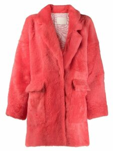 Drome oversized coat - Red