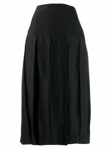Jil Sander luisa pleated skirt - Black