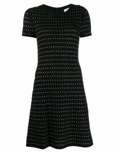 Michael Michael Kors studded knitted dress - Black