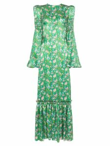 The Vampire's Wife floral print maxi dress - Green