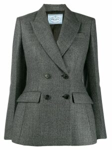 Prada tweed blazer - Black