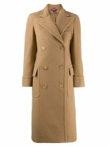 Ralph Lauren Collection classic double-breasted coat - Brown