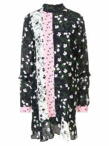 Nicole Miller floral print mini dress - Multicolour